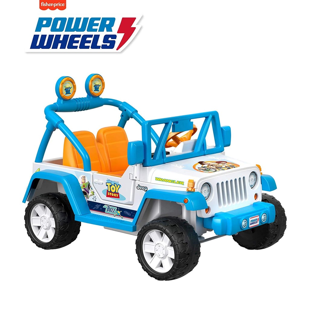 For 3-Year-Olds: Power Wheels Disney/Pixar Toy Story Jeep Wrangler
