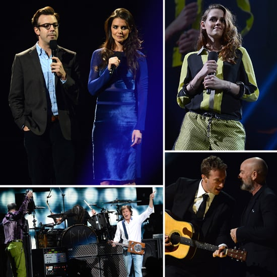 Celebrity Pictures at 12/12/12 Sandy Relief Concert