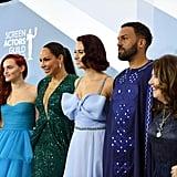 طاقم عمل مسلسل The Handmaids Tale في حفل جوائز نقابة ممثلي الشاشة SAG لعام 2020