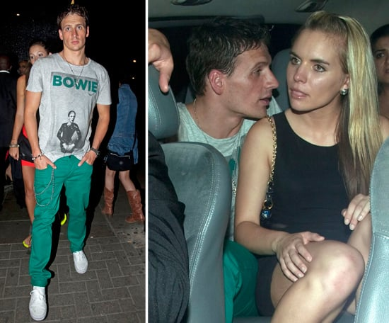 Ryan Lochte Parties in London | Pictures