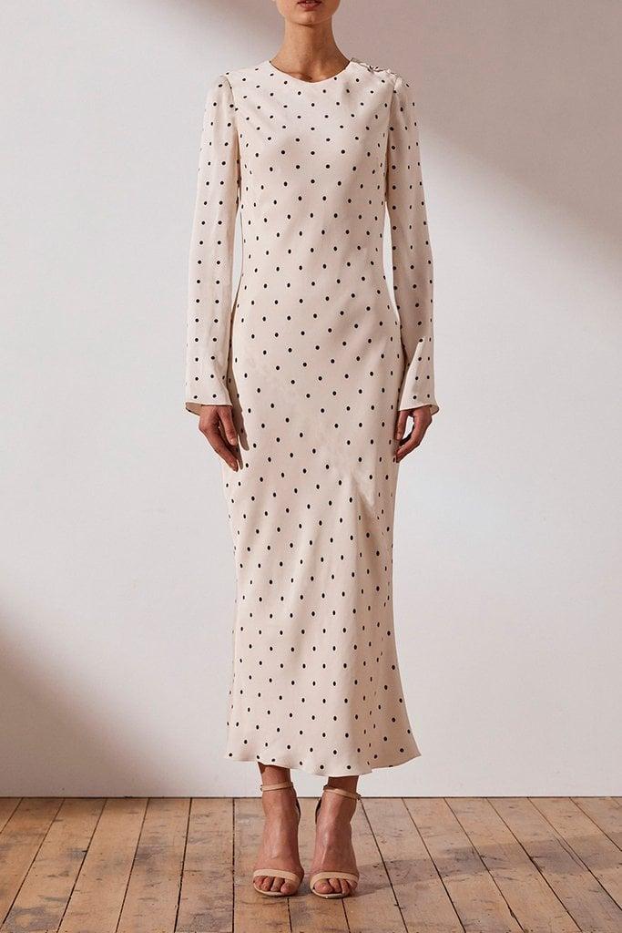 b905c1927466 O'Dell L/S Bias Midi Dress ($295)   Shona Joy Luxe Collection Formal ...