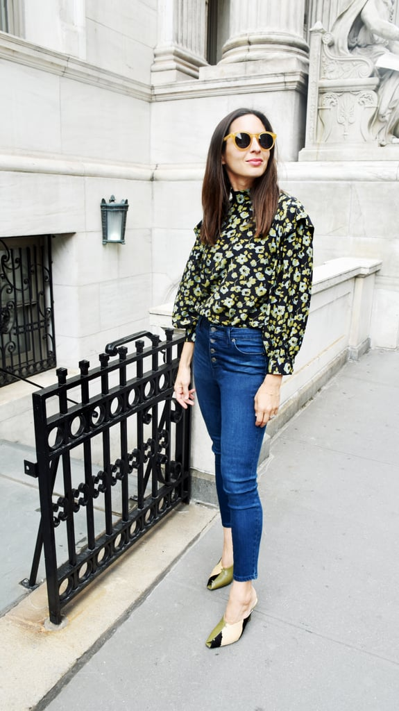 Style Your Jeans With: A Top, Heels, and Sunglasses