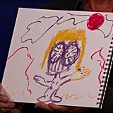 Josh Brolin's Drawing of Thanos