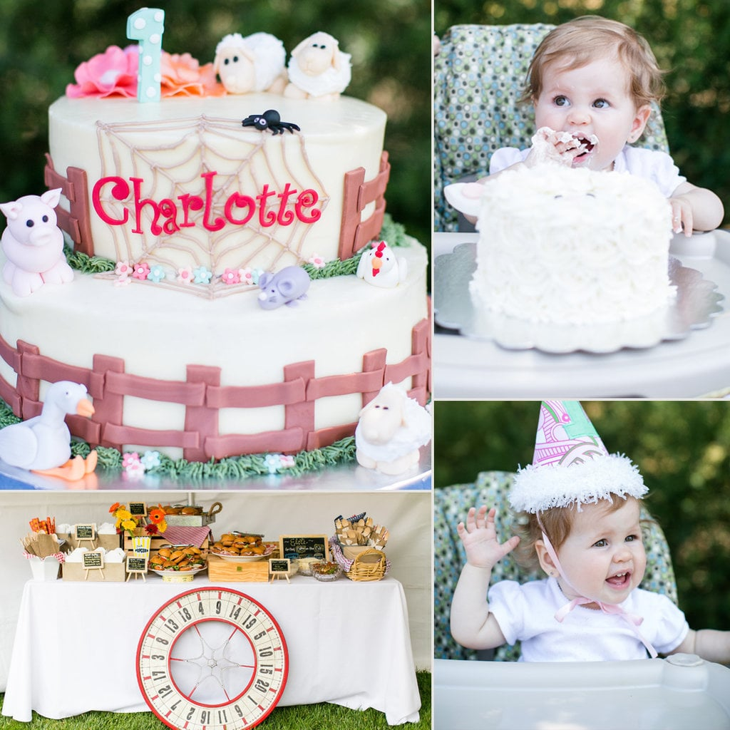 Charlotte's Web Themed Birthday Party