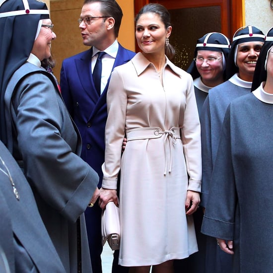 Princess Victoria's Beige Filippa K Dress December 2016