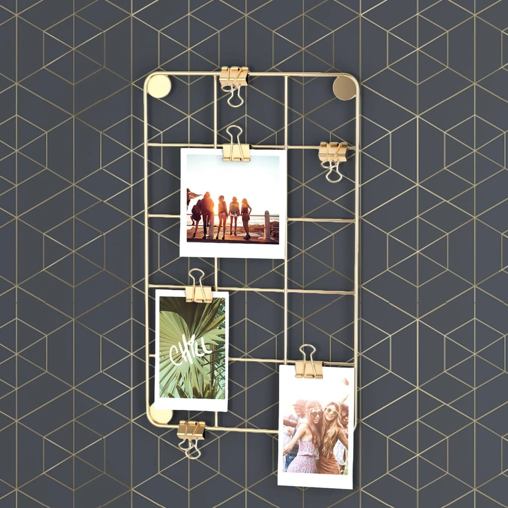 Magnetic Locker Photo Grid
