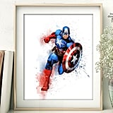Captain America Print