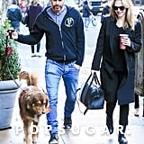 Amanda Seyfried Takes a Stroll With Fiancé Thomas Sadoski After Revealing Her Pregnancy News