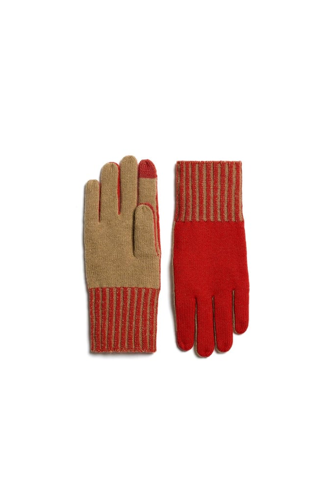 """""""Every Winter I lose my gloves, so this year I need a new pair and I'm eyeing these two-toned ribbed ones from Rag & Bone ($95). The forefinger and thumb have tech tips, which is useful for someone like me who's always on her phone."""" — ML"""