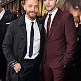 With Nicholas Hoult at the Mad Max: Fury Road LA premiere in 2015.