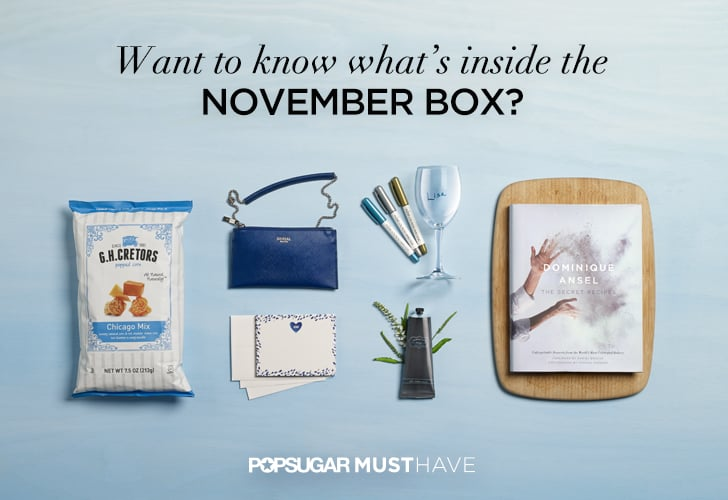 2014 November POPSUGAR Must Have Box Reveal Contents