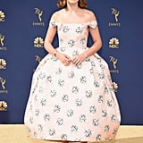 Millie Bobby Brown at the 70th Emmy Awards in 2018