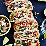 Crockpot Chicken Tinga Tacos With Bacon Pico de Gallo