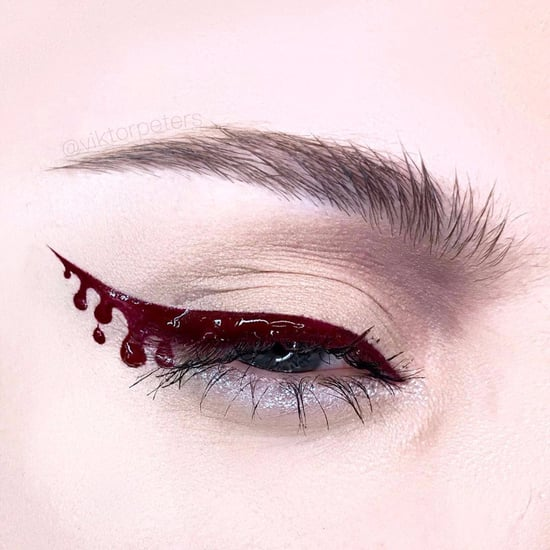 Blood Eyeliner Makeup