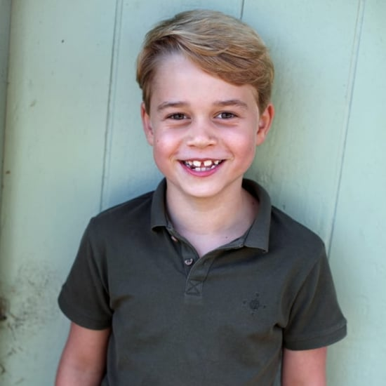 Prince George Wears Mango Shirt For 7th Birthday