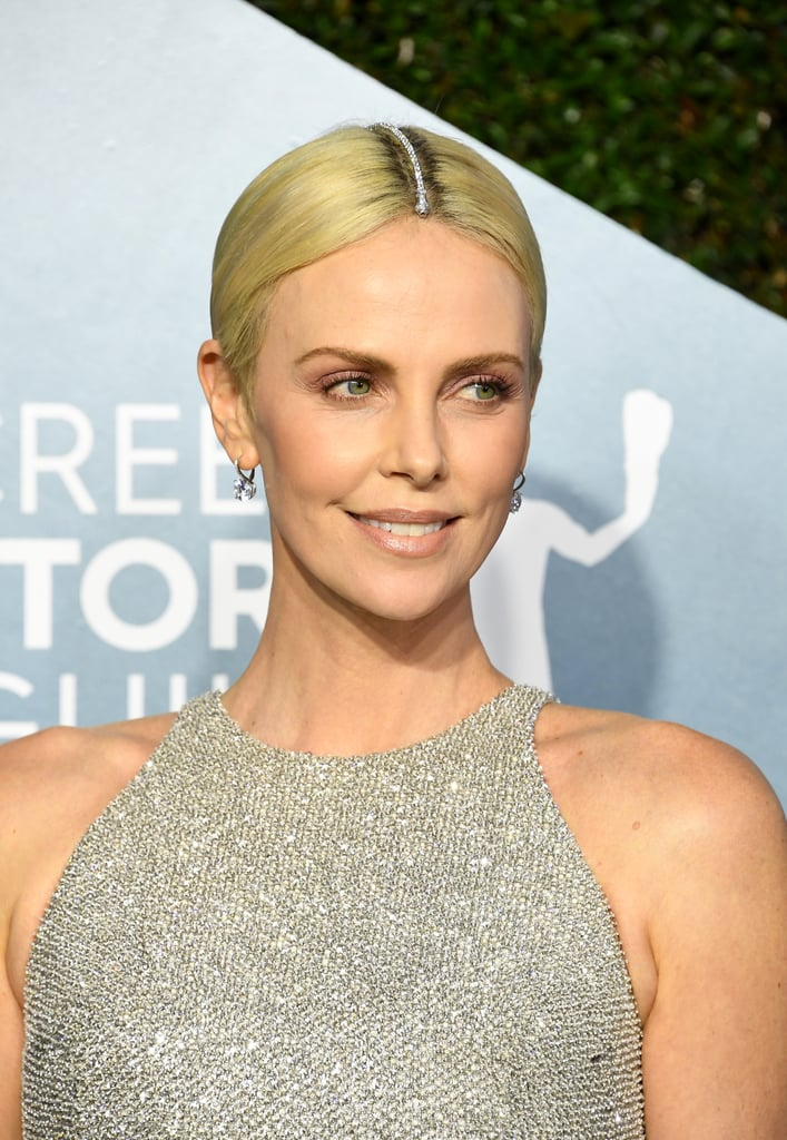 Charlize Theron's Hair Jewellery at the 2020 SAG Awards