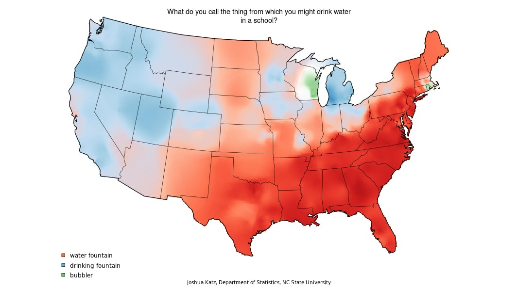 Clever US Dialect and Word Usage Maps | 10 Things That Made Us LOL This  Week | POPSUGAR...
