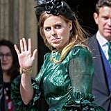 Princess Beatrice at Ellie Goulding's Wedding