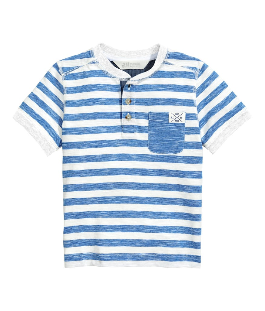 H&M T-Shirt With Buttons