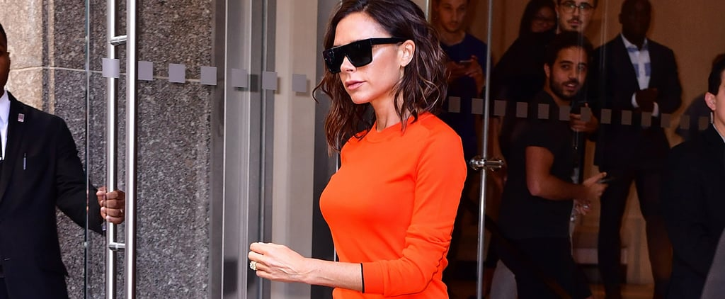 An Update on Victoria Beckham's Wavering Ban on High Heels