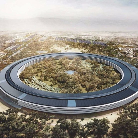 Apple Park Campus Roof Made in Dubai, Shipped to California