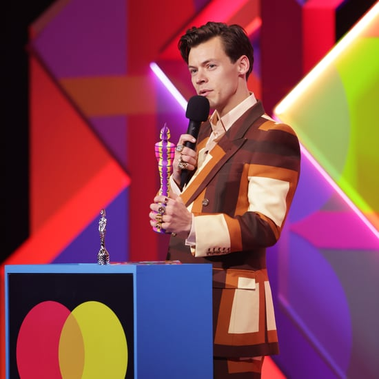 Harry Styles's Gucci Outfit at the 2021 Brit Awards