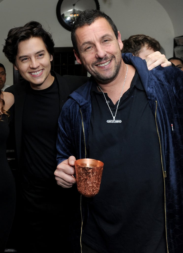 Cole Sprouse and Adam Sandler's Sweet Big Daddy Reunion