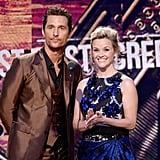 Mud costars Matthew McConaughey and Reese Witherspoon presented an award.