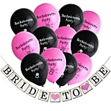 Garland With Set of 12 Bachelorette Party Balloons ($11)