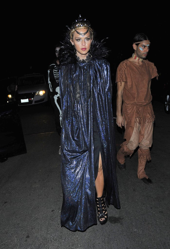 Rachel Zoe stepped out in style for Kate Hudson's Halloween party in 2014.