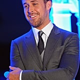 Ryan Gosling on the red carpet in Thailand.