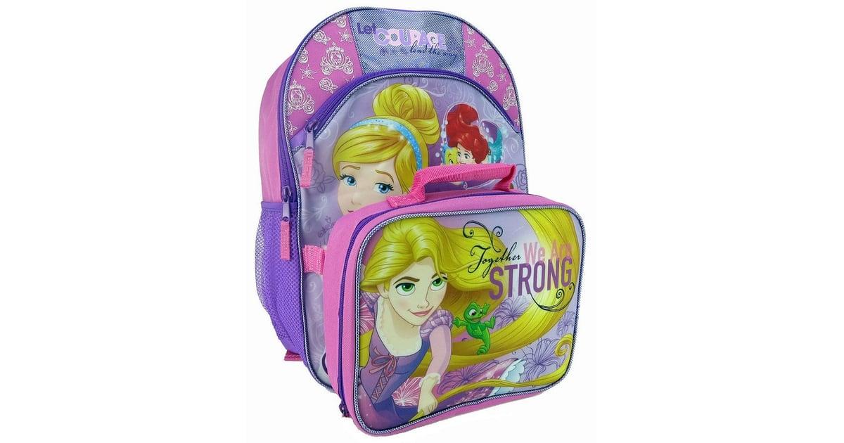 ed9686dd927 Disney Princess Kids Courage Backpack   Lunch Bag Set