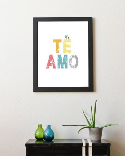 "Children Inspire Design ""Te Amo"""