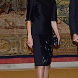 Letizia in Carolina Herrera, April 2018