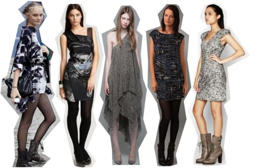 Shop the Best Moody Winter Print Dressesfor Fall/Winter 2010