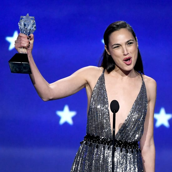Gal Gadot Speech at 2018 Critics' Choice Awards