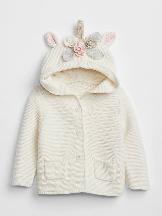 baby gap unicorn sweater