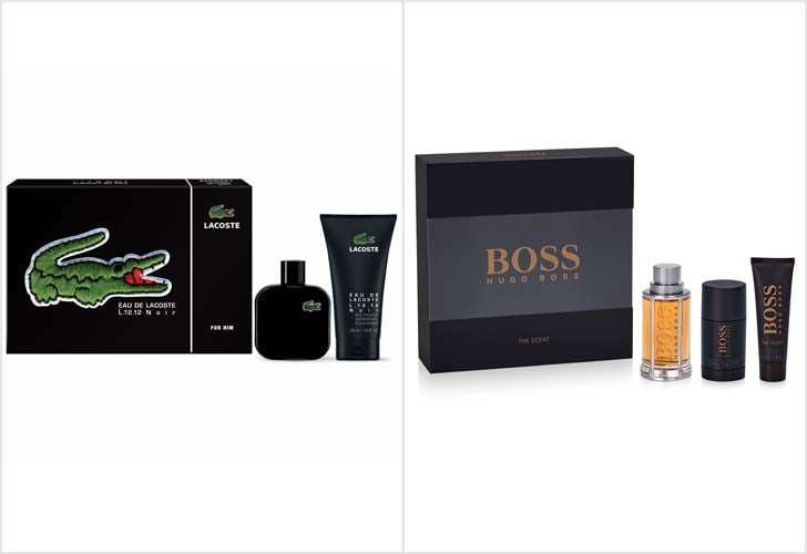 Hugo Boss and Lacoste Grooming Gift Sets
