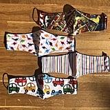 MabelandBowes Children's Patterned Face Masks (3-16yrs)