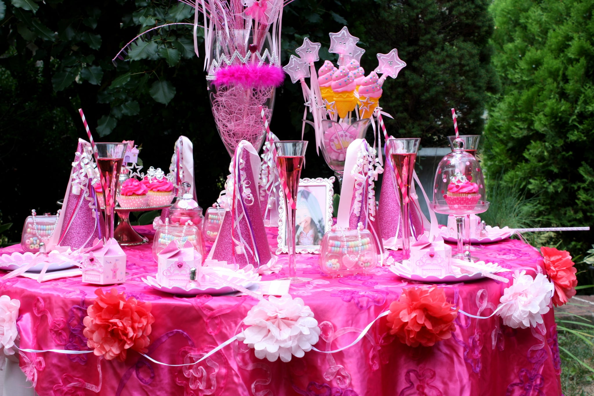 Pink Princess Birthday Party on a Budget | POPSUGAR Family