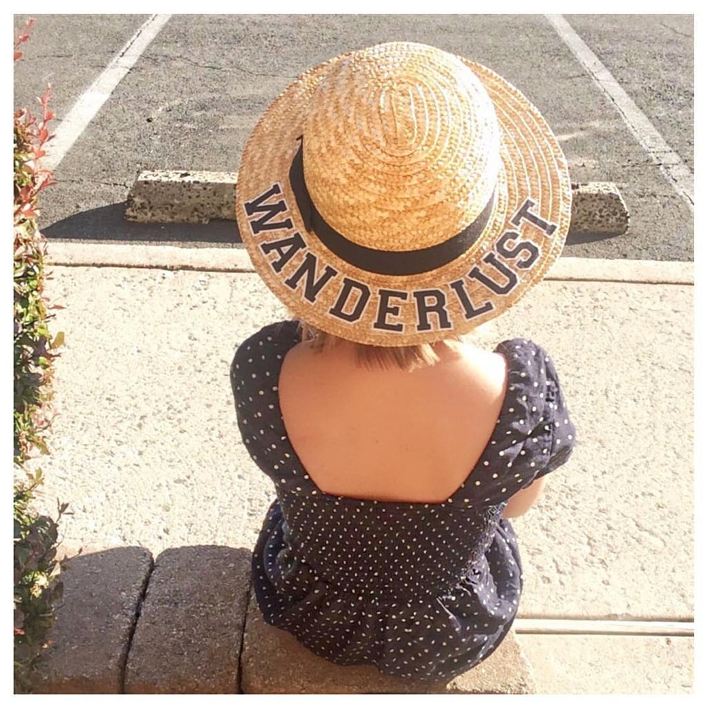 DIY the It Girl Hat of Summer