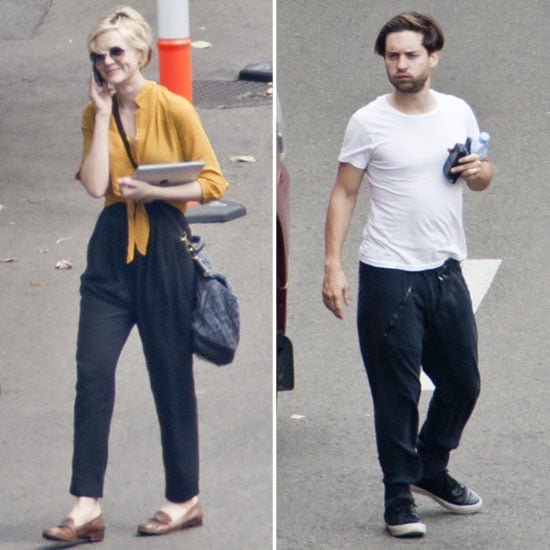 Carey Mulligan and Tobey Maguire Get Ready to Welcome Leo Down Under