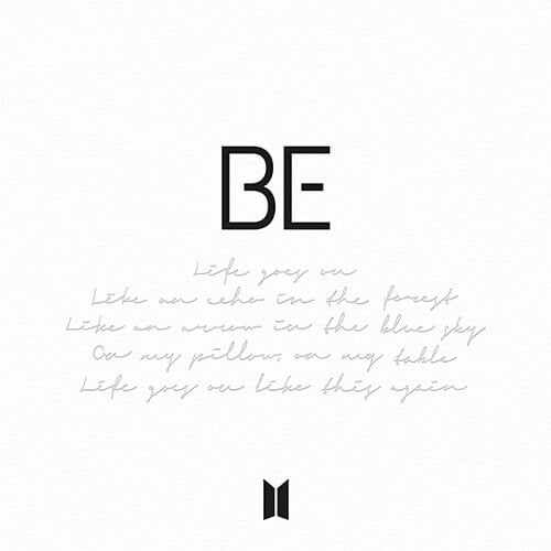 BE by BTS