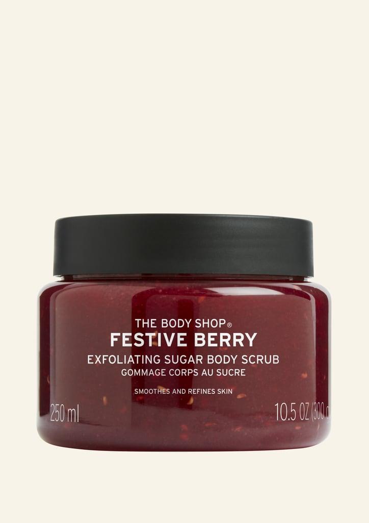 The Body Shop Festive Berry Body Scrub