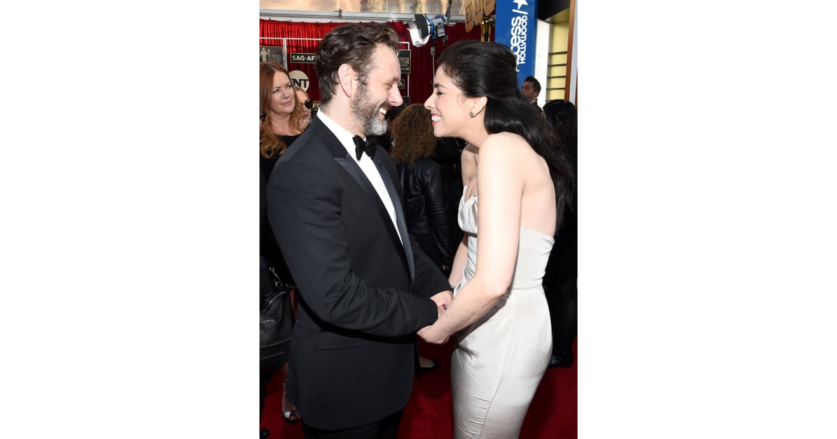 Sarah Silverman And Michael Sheen Cute Pictures Popsugar