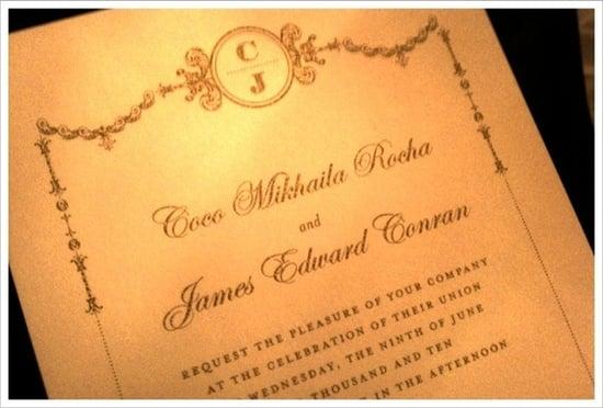 Coco Rocha Wedding