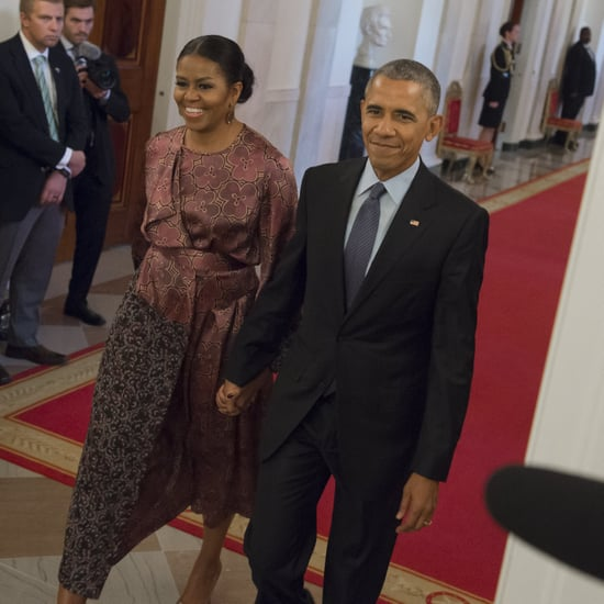 Barack and Michelle Obama at Medal of Freedom Ceremony 2016