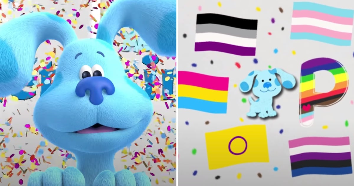 Blues Clues and You Put a Fun Twist on the ABCs to Recognize the LGBTQ+ Community