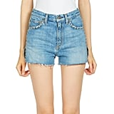 Saint Laurent Studded Denim Shorts ($1,190)