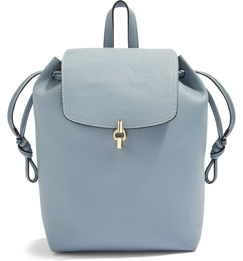 Topshop Lucy Metal Tab Backpack